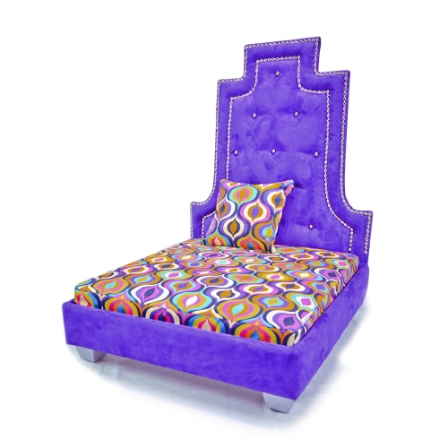 Ayati Plum Luxury Bed