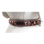 BB Simon Pink Leopard Swarovski Collar