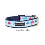 Blue Cupcakes Collar