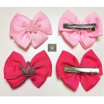 Royal Crown Ribbon Bow