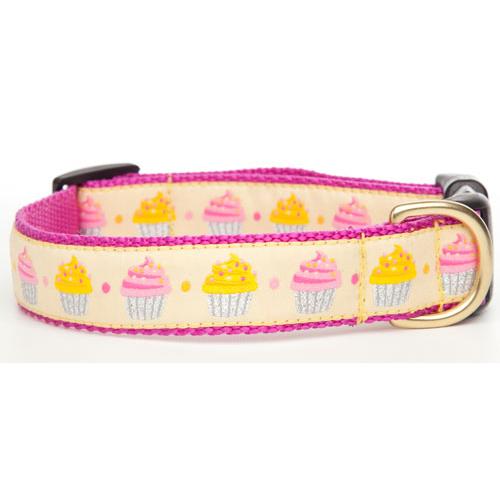 Pink Cupcake Collar