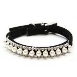 Pearl Rhinestone Collar
