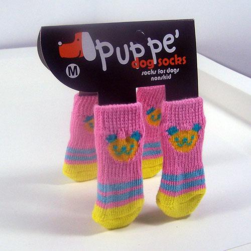 Bear Dog Socks