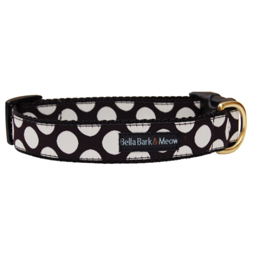 Polka Dog Collar & Leash