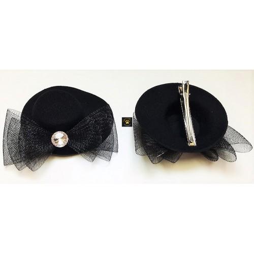 Black Clip Hat