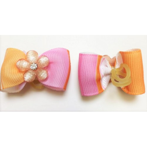 Sherbert Flower Bow