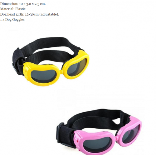 Small Dog Goggles