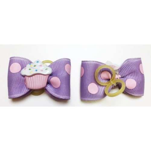 Sprinkles Dog Bow