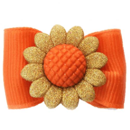 Sunflower Pet Bow
