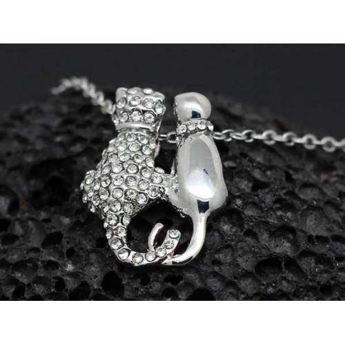 Cat Tails Necklace