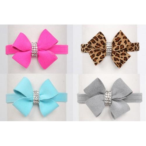 Lanci Nouveau Bow Swarovski Collar