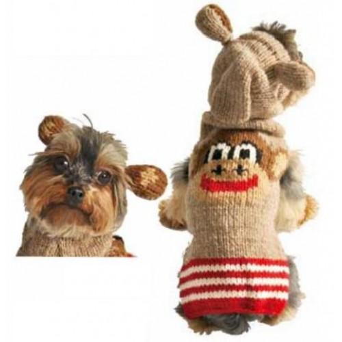 Monkey Hoodie Dog Sweater