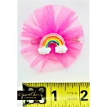 Rainbow Tutu Hair Clip
