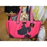 Doggie Style  Canvas Rescue Me tote