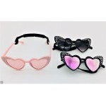 Heart Rhinestone UV400 Sunglasses