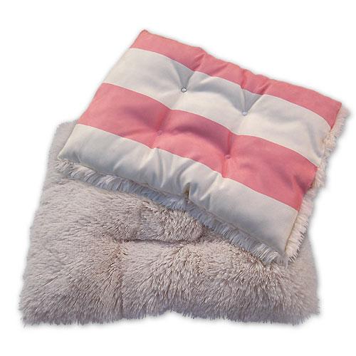 Minky Shag Bed