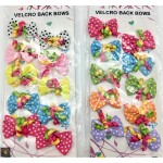 10 pack Velcro Party Bows
