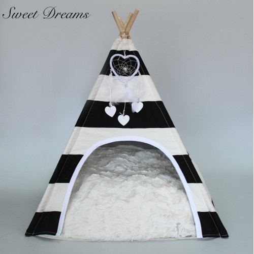 Sweet Dreams Teepee Pet Bed