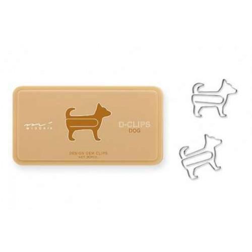 Dog Paper Clips- Midori D-Clips