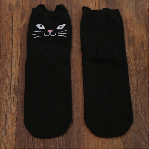 Cat Peekaboo Socks