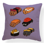 Dachshund Sushi Pillowcase