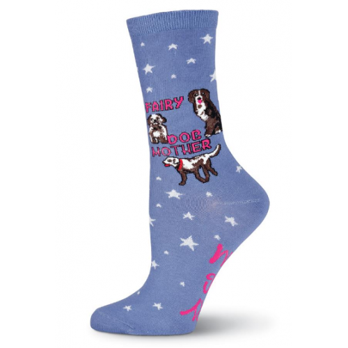Fairy Dog Mother Crew Socks