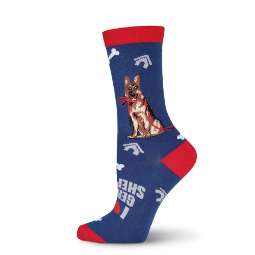 German Shepherd Crew Socks
