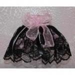 Black & Pink Lace Tutu
