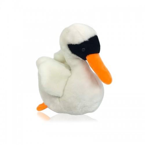 Hanky The Swan Plush Dog Toy